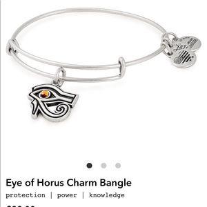 Alex and Ani Silver Bangle- Eye of Horus